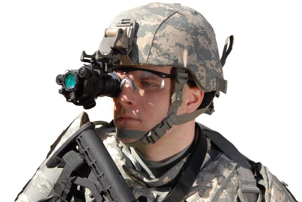 what a night vision monocular looks like