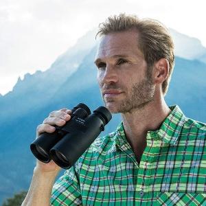 A pair of inexpensive binoculars