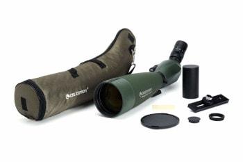 a spotting scope