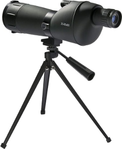 a spotting scope for 100+ yards