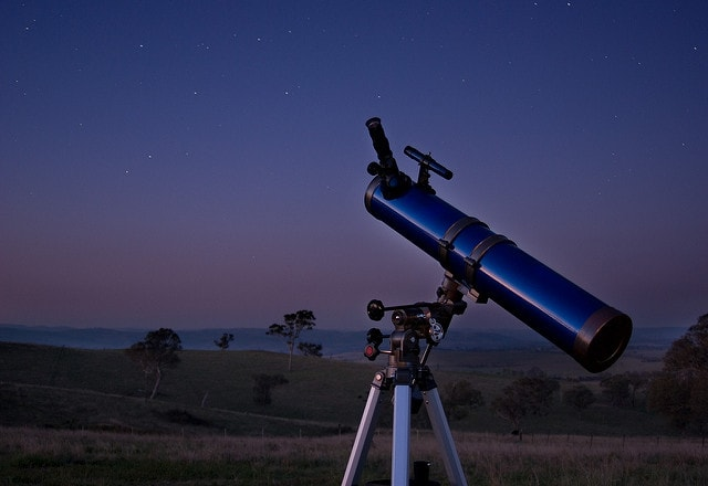 A telescope in the dark