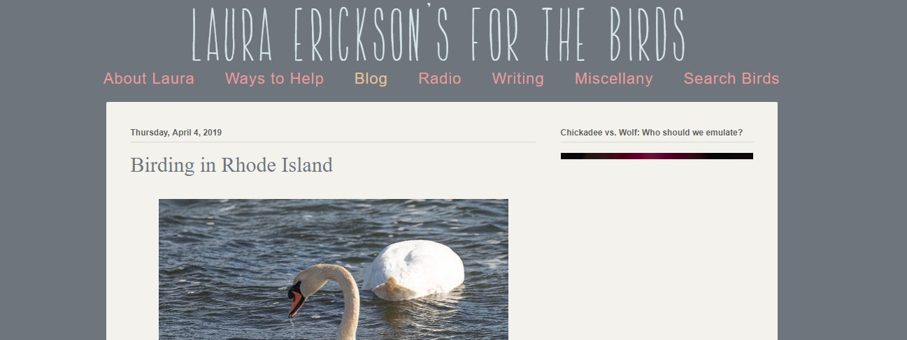 Laura Erickson's For the Birds
