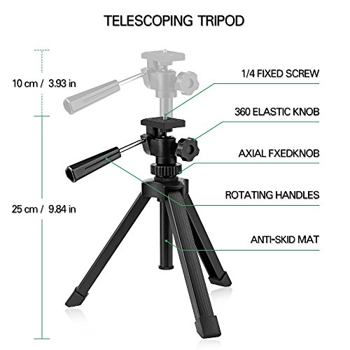 Telescoping tripod