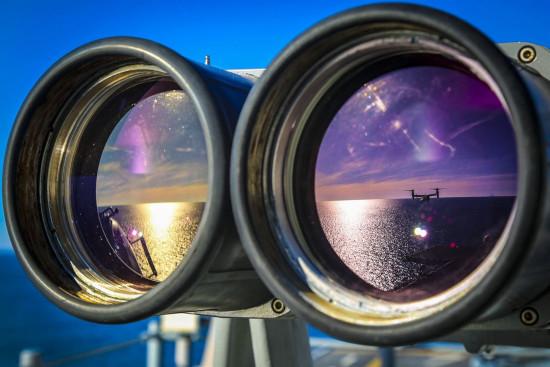 binocular lens