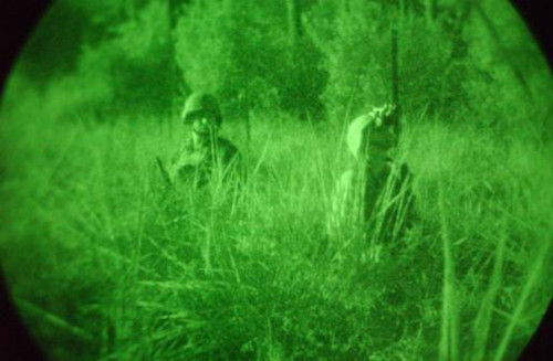 green night vision