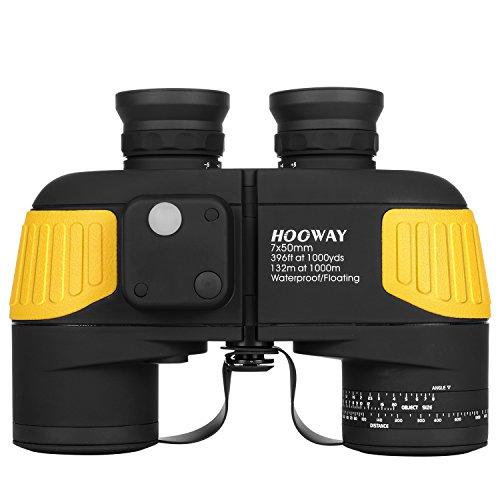Hooway 7x50 Waterproof Fogproof Marine Binoculars