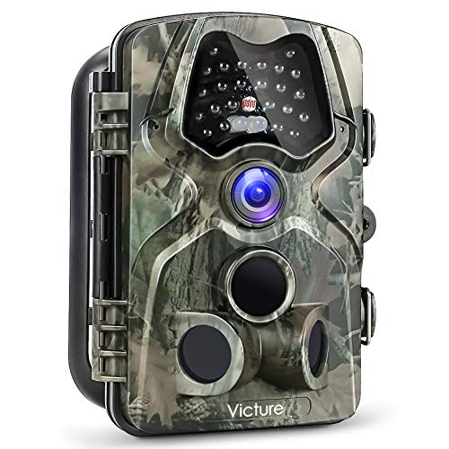 Victure Trail Camera with Night Vision 12MP 1080P