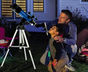 a cheap telescope