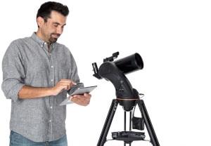a Celestron telescope