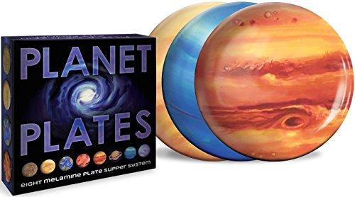 The Unemployed Philosophers Guild Planet Plates, Planet Plates, One Size