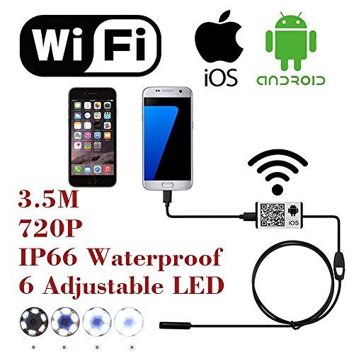 AttoPro WiFi Wireless Digital Endoscope