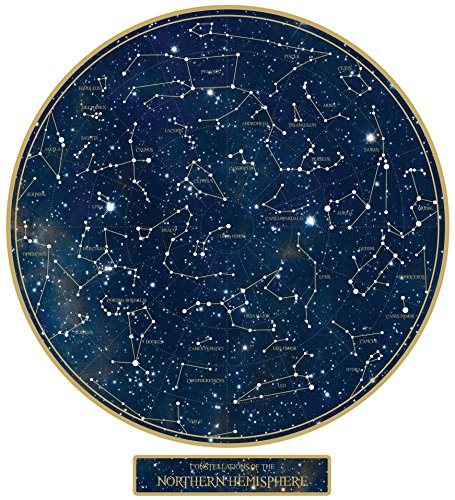 The Constellations Glow-In-The-Dark Star Map (Northern Hemisphere)