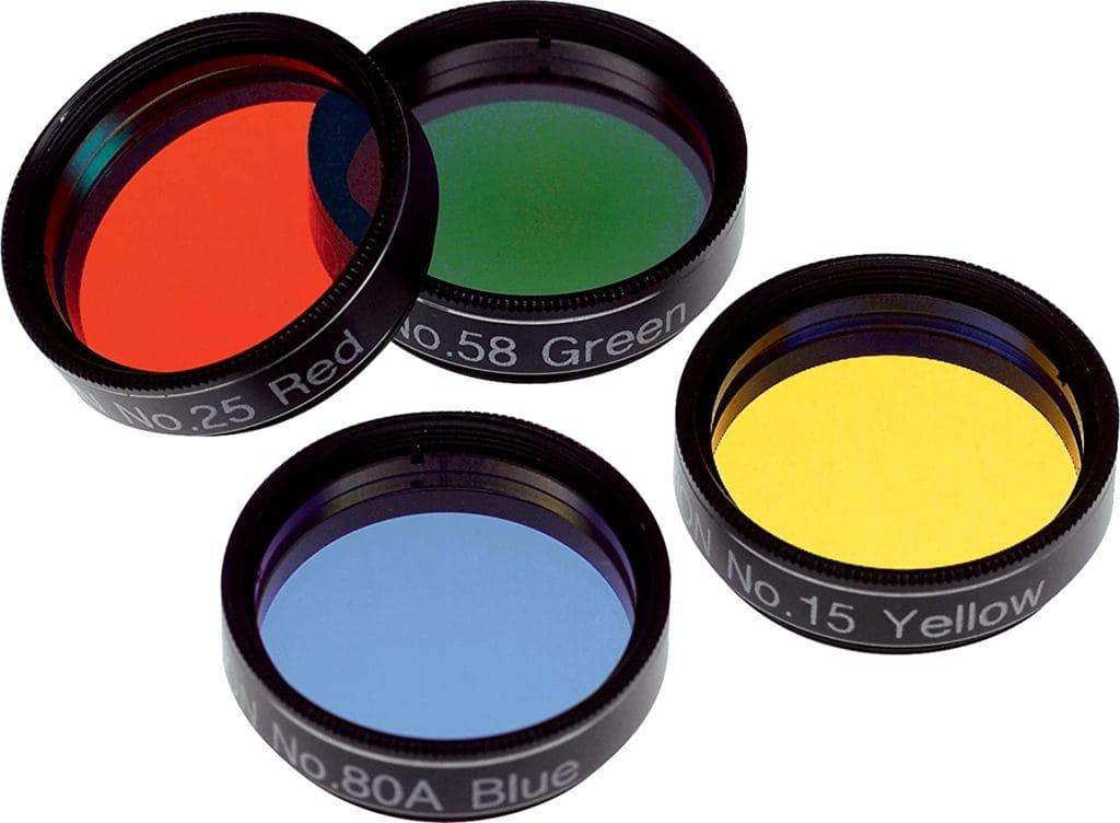 Orion telescope lens filters