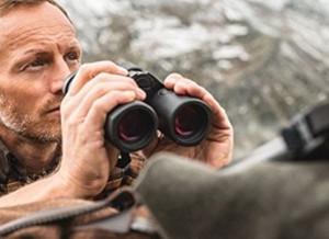 a range-finder binocular