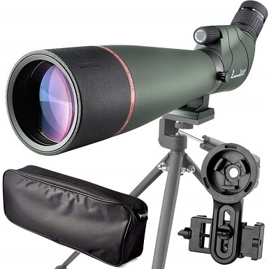 20-60X 80 Prism Spotting Scope