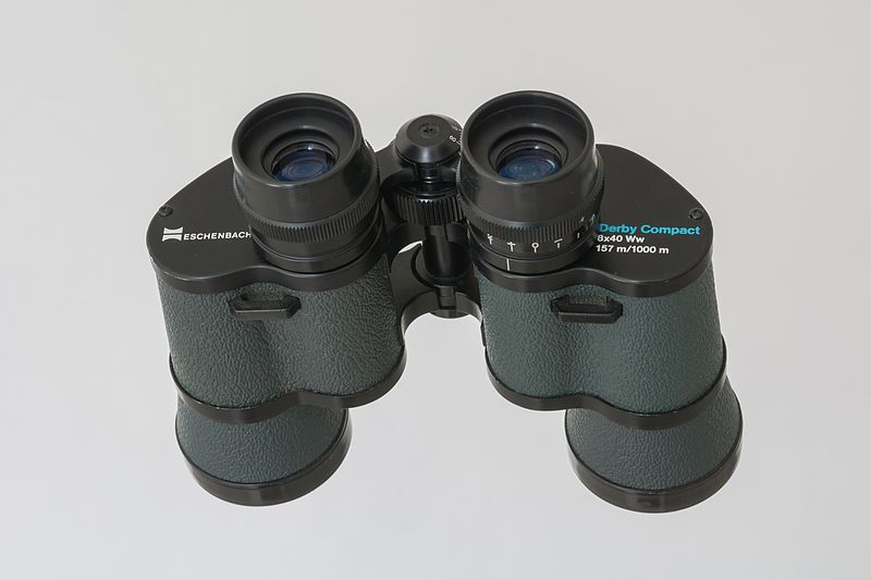Binoculars that are compact