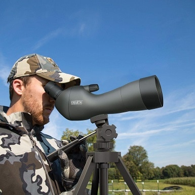 An inexpensive spotter scope