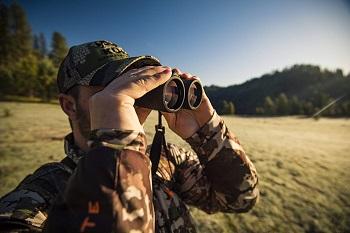 A pair of hunting Binoculars