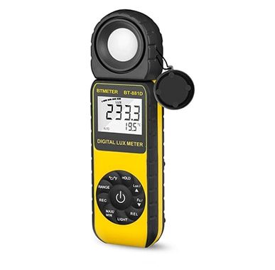 BTMETER BT-881D Digital Illuminance Light Meter