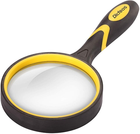 Dicfeos Shatterproof Magnifying Glass
