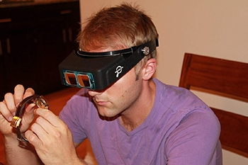 Headband Magnifier-MagnifyLabs-Amazon