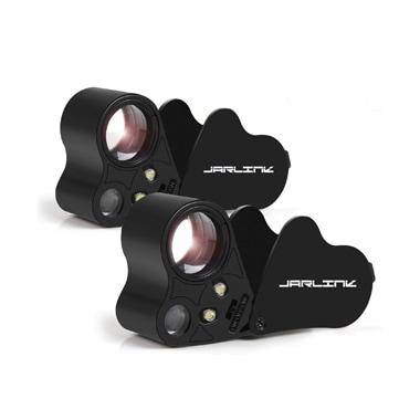 JARLINK Illuminated Eye Loupe Magnifier