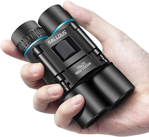 Sallous 10 x 25 Small Compact Binoculars