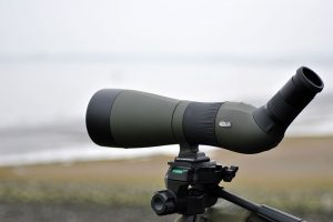 close up photo of spotting scope