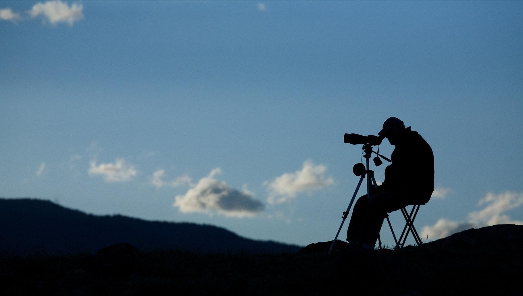 spotting scopes night fall