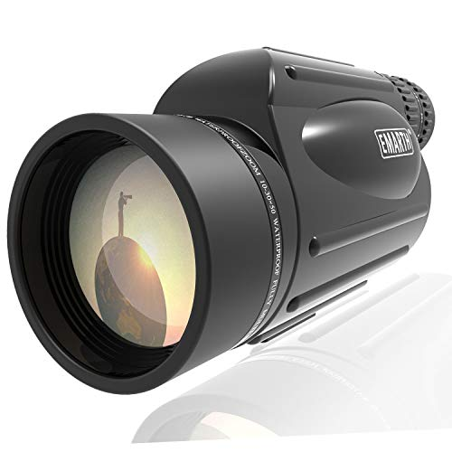 Emarth High Power 10-30X50 Zoom Monocular