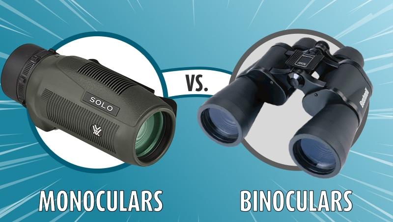Monoculars vs. Binoculars