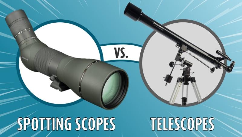 Spotting Scopes vs. Telescopes
