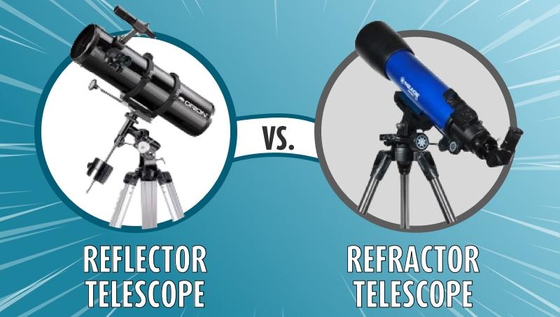 Reflector vs Refractor Telescope