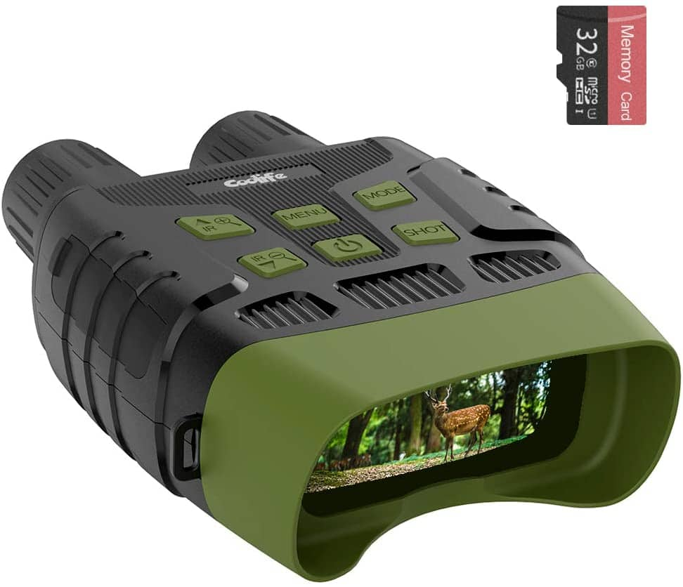 Coolife Night Vision Goggles Binoculars