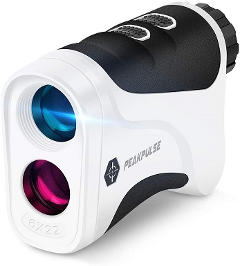 PEAKPULSE Golf Laser Rangefinder with Flag Acquisition