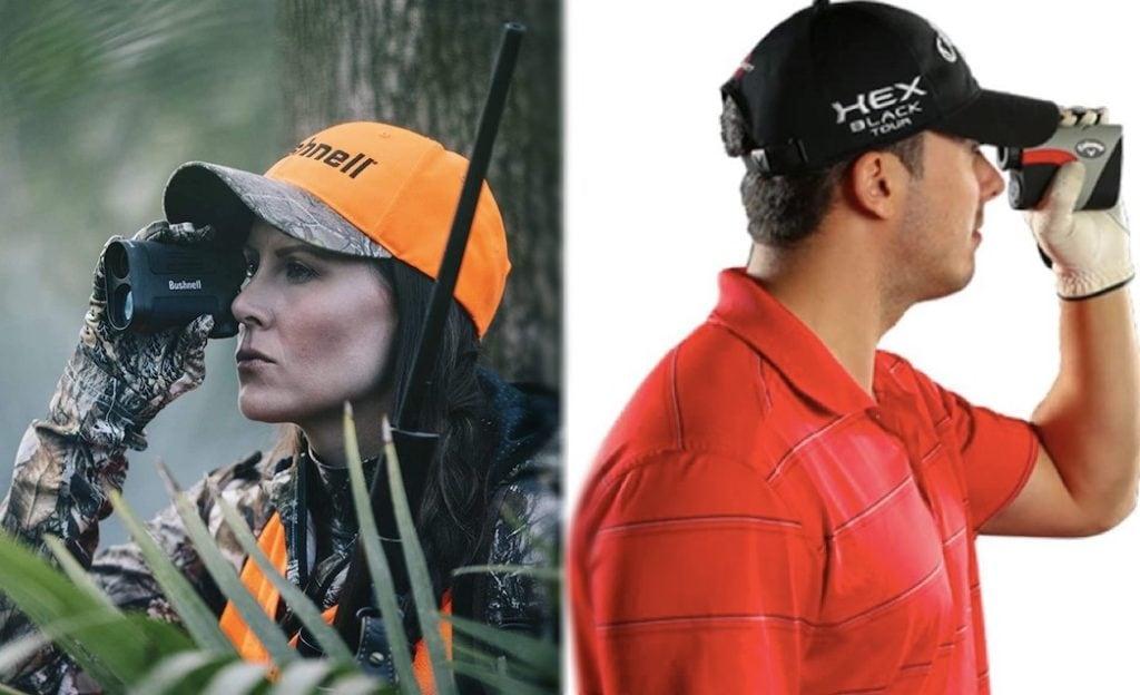 hunting vs golf rangefinder