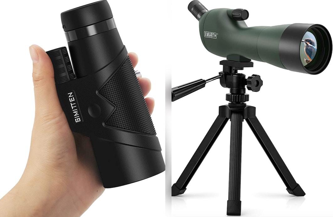 monocular vs spotting scope