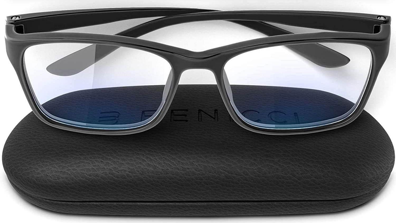 Benicci Stylish Blue Light Blocking Glasses for Women or Men