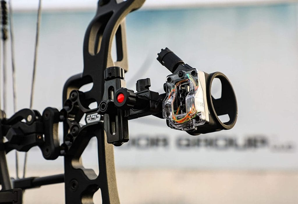 CBE Tactic Bow Sight setup