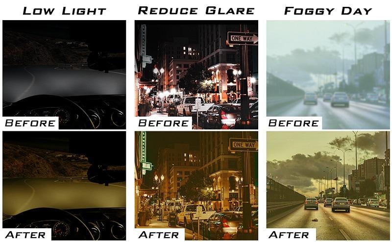 KastKing Polarized Night Vision Driving Glasses Men & Women
