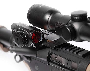 Predator V3 Micro Red Dot Sight_Combat Veteran Owned Company_45 Degree Offset Mount and Riser Mount Included