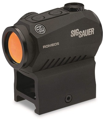 Sig Sauer SOR52001 Romeo5 1x20mm Compact 2 Moa Red Dot Sight
