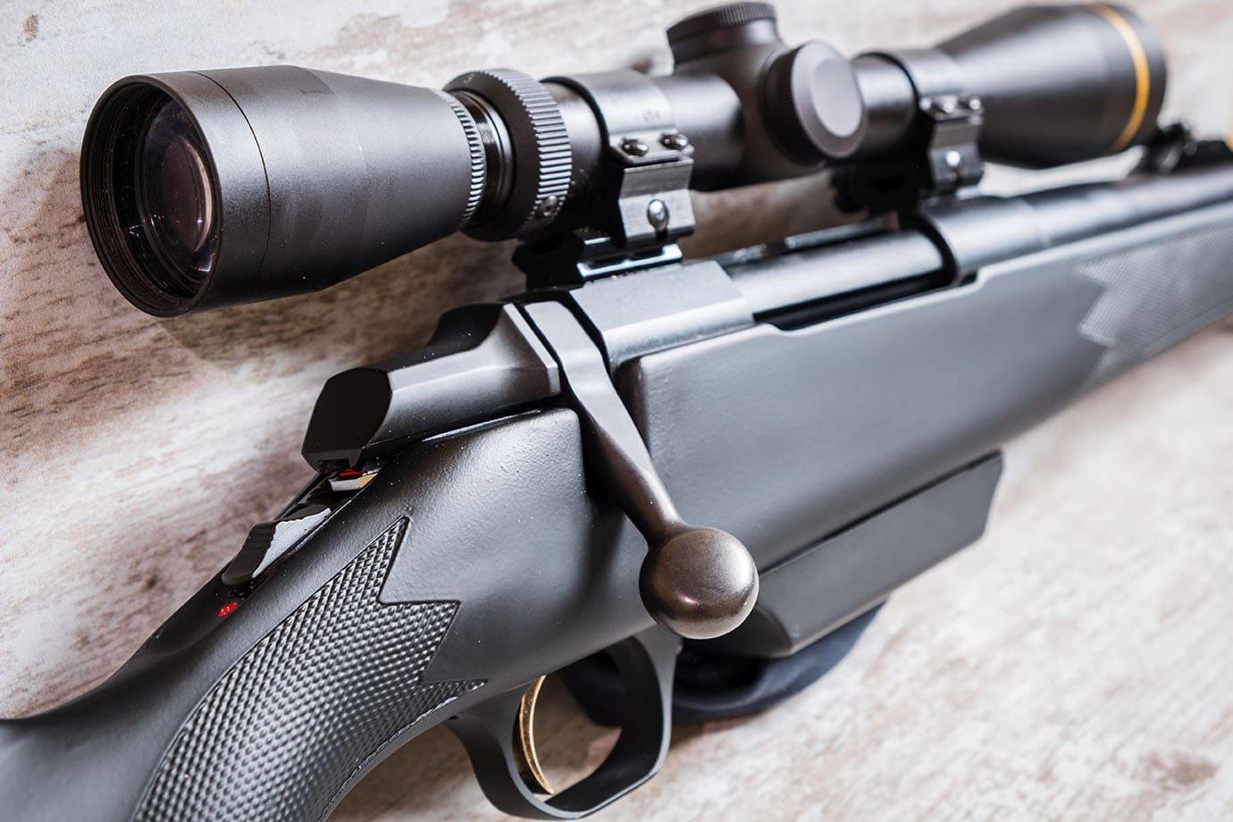 a shotgun