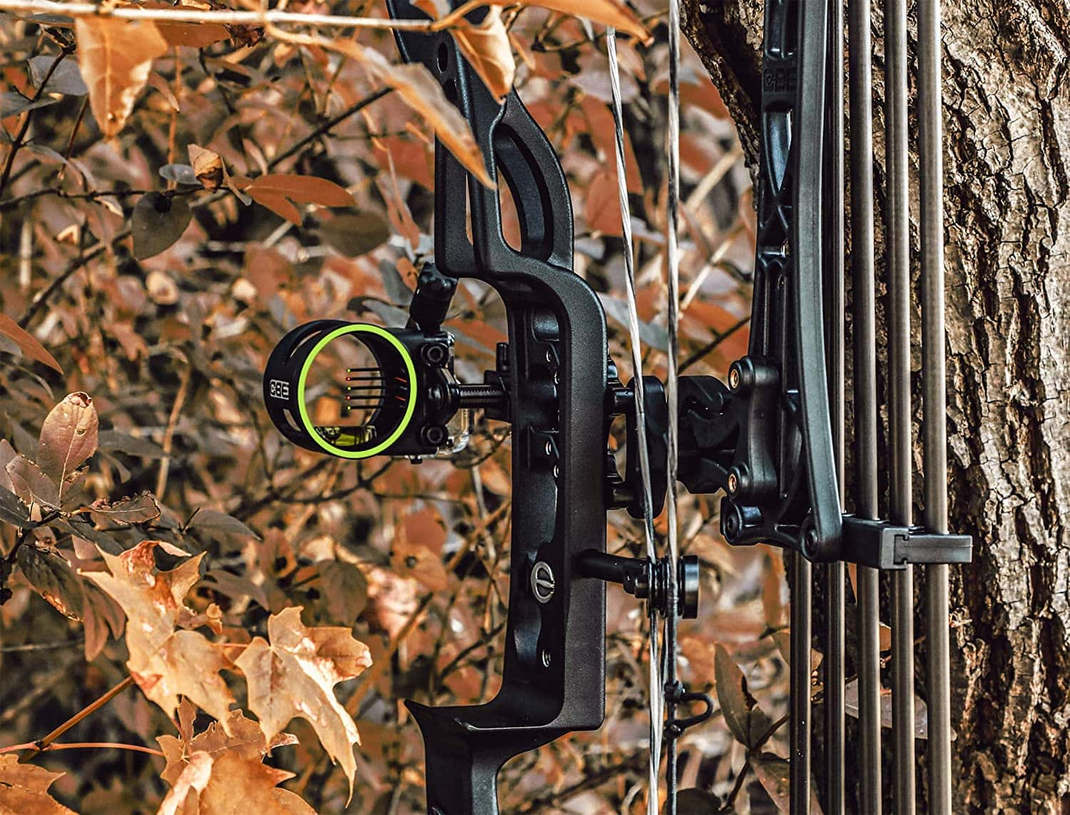 actual photo of CBE Tactic Bow Sight