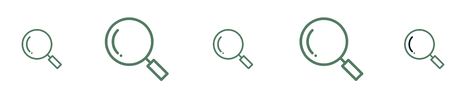 magnifying glass 2 divider