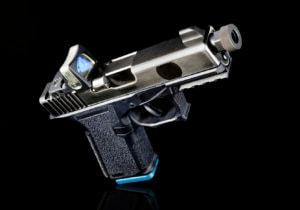 pistol with scope