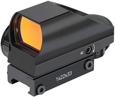 OTW RS-25 1x22x33mm Reflex Red Dot Sight Scope