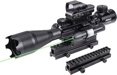 Pinty 4-16X50 Illuminated Rifle Scope
