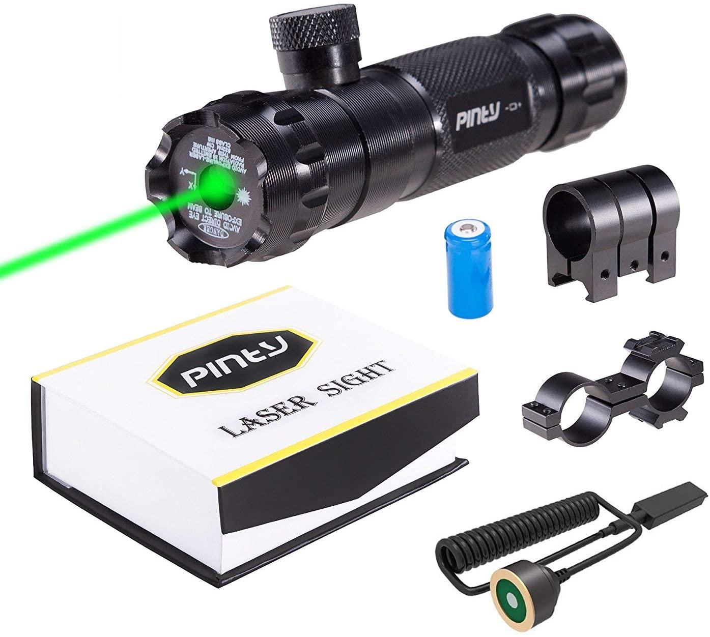 Pinty Hunting Rifle Green Laser Sight
