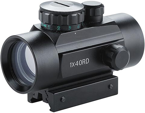 Pinty Tactical 1x40mm Reflex Red Green Dot Sight